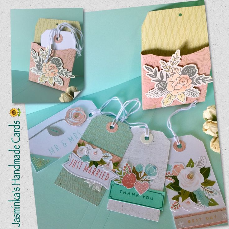 CTMH tags with the Hello Lovely papers