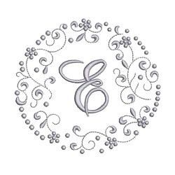 Needle Passion Embroidery,monogram scrolls� machine embroidery design pack