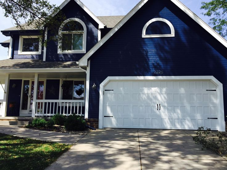 Navy Exterior Valspar Indigo Streamer For My House In 2019 Valspar Paint Colors Valspar Paint Colors