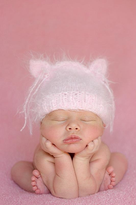 Inspiratie voor de foto van jullie baby voor jullie geboortekaartje.