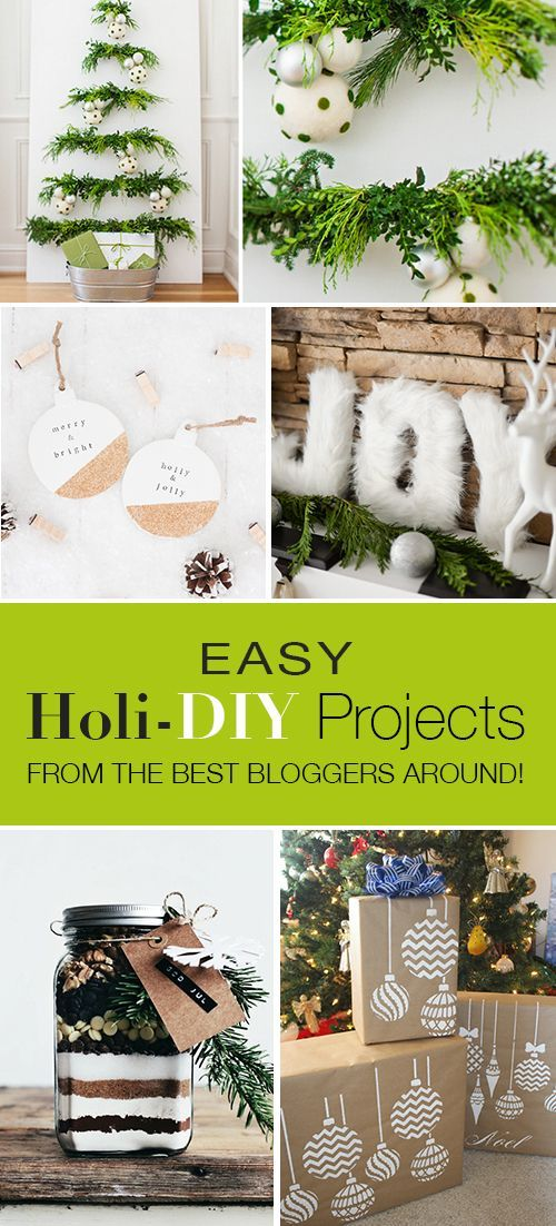 Easy holi diy projects from the best bloggers around for Diy crafts with things around the house