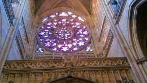La rose de la #cathédrale Saint-Guy de #Prague. #RépubliqueTchèque