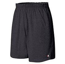 Men's Heavyweight Jersey Rugby Shorts - Black XXL