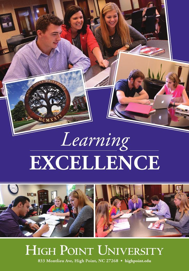 High Point University. High Point North Carolina. Learning Excellence Program. ffers extensive support to students with learning differences as well as those who want to organize and improve their academic abilities.