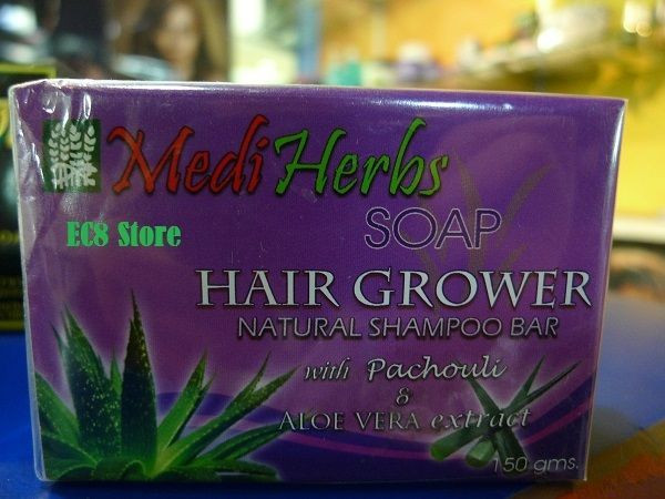 Details about MediHerbs Soap Hair Grower Natural Shampoo ...