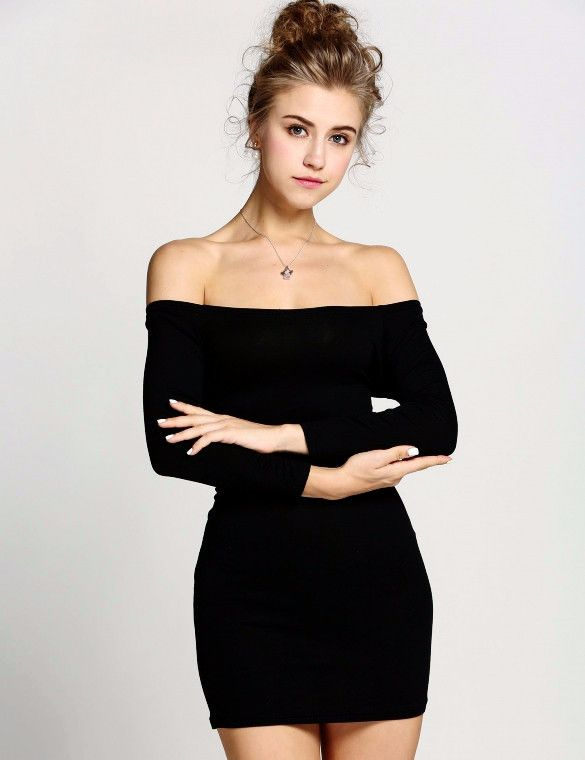 Black Tank Mini Dress Hoco