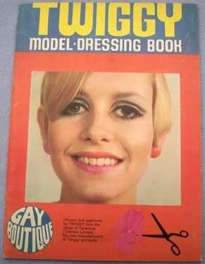 1960s Twiggy Model Dressing Book