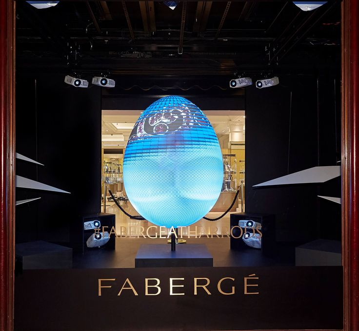 One of the world's most iconic artist jewelers Fabergé returns to London department store Harrods in March for an exclusive, interactive pop-up store.
