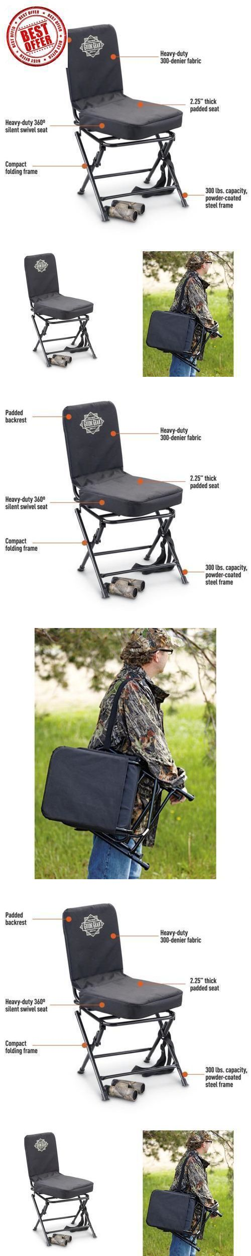 Seats and Chairs 52507 Portable Swivel Hunting Chair