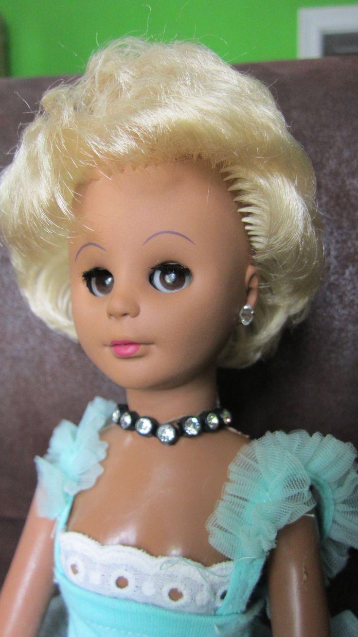 Śliczna lalka sygnowana, oryginalna uroda, 40 cm
