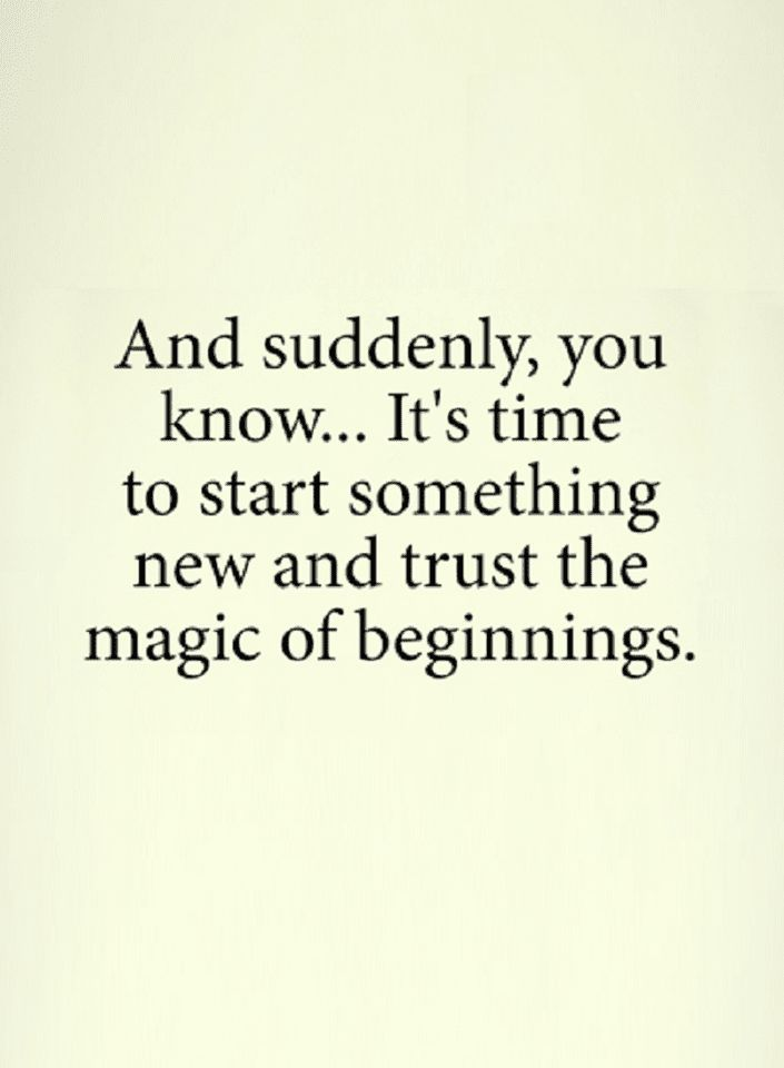 Quotes And With time new beginnings are there, just trust ...