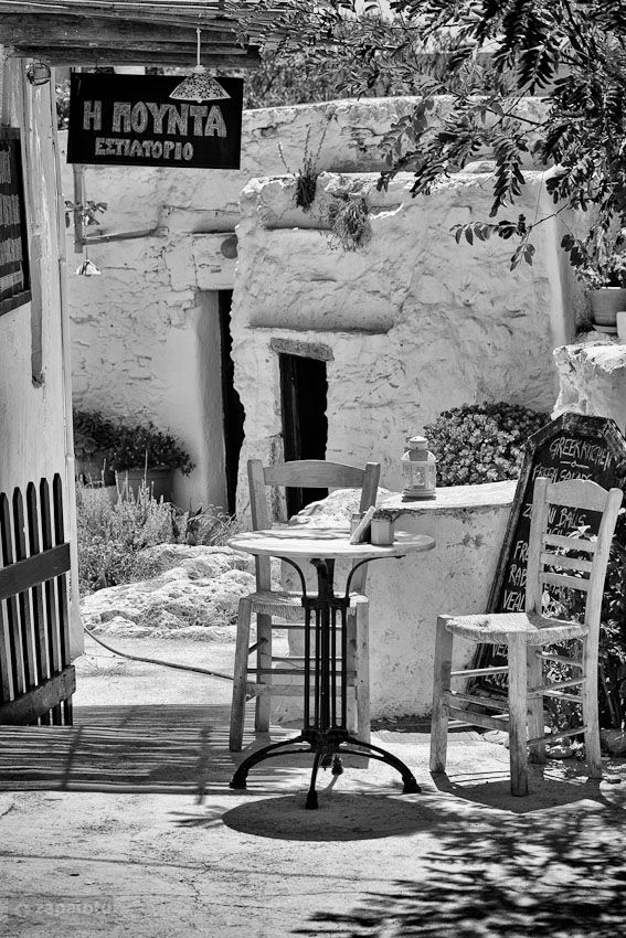 cyclades folegandros simplest restaurant by zapalote photography