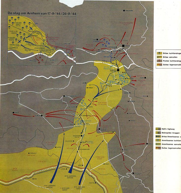 Overzicht van het strijdverloop in de corridor