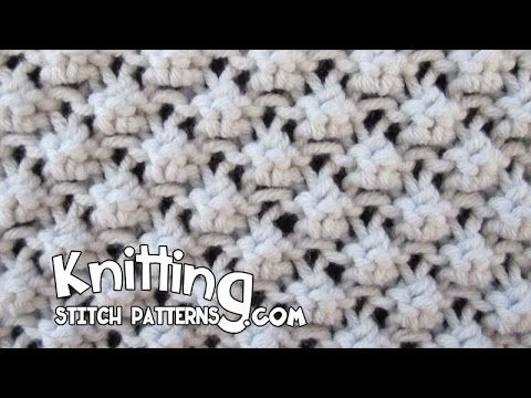 Trinity Stitch aka Cluster 3 Stitch | Knitting Stitch Patterns