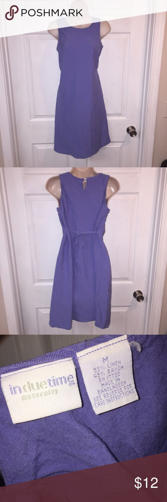 Light purple maternity dress Sleeveless maternity dress with tie back for a better fit. Excellent condition in due time Dresses