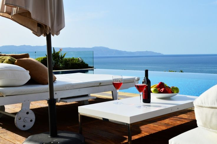 Holiday Villa in Chania, Crete - Winehill Top Luxury Villa in Platanias 500mt to the beach