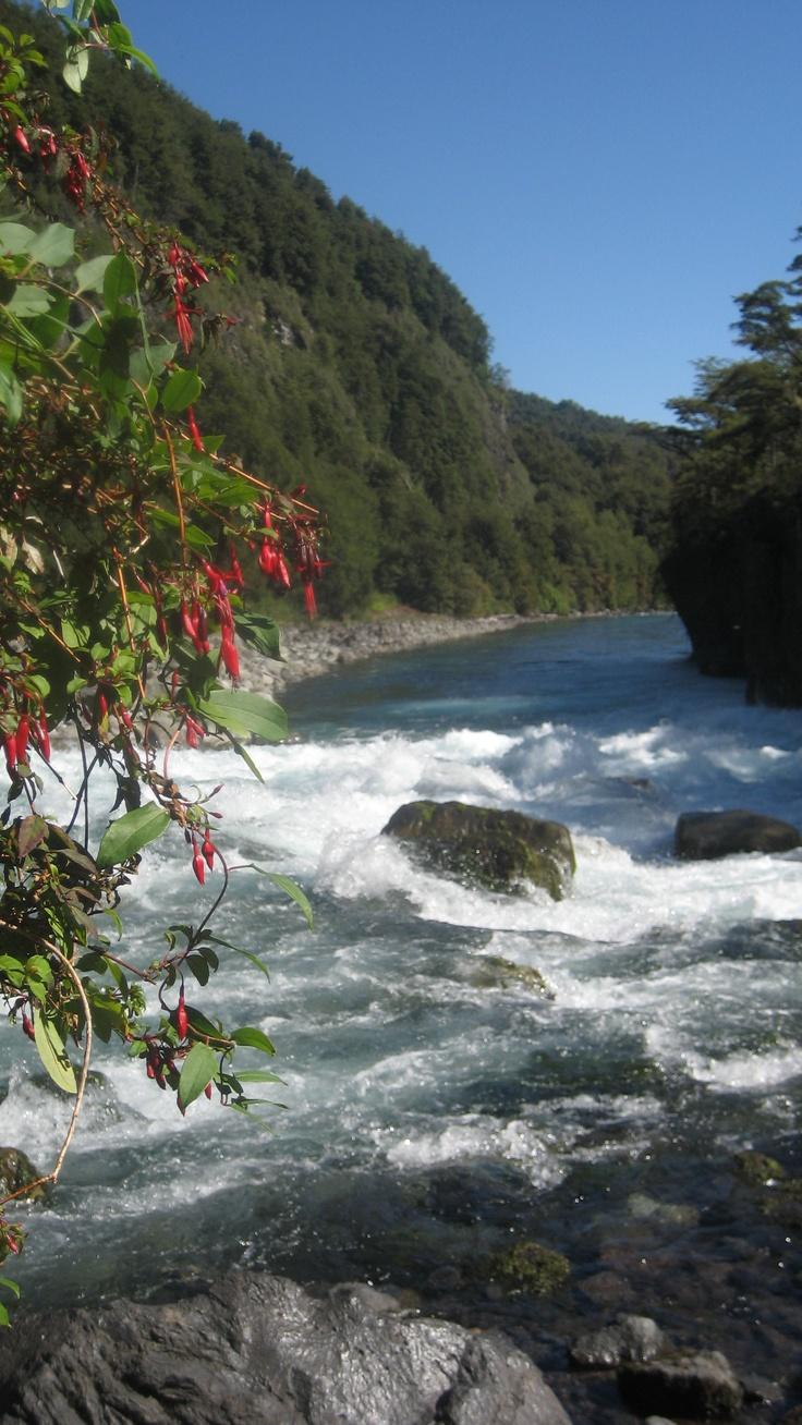 Salto de Petrohue ( Chile) Region de los Lagos