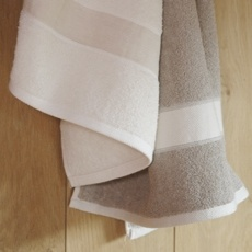 Baden Bath Sheet - 100% Linen. We use these every day. It's great!!