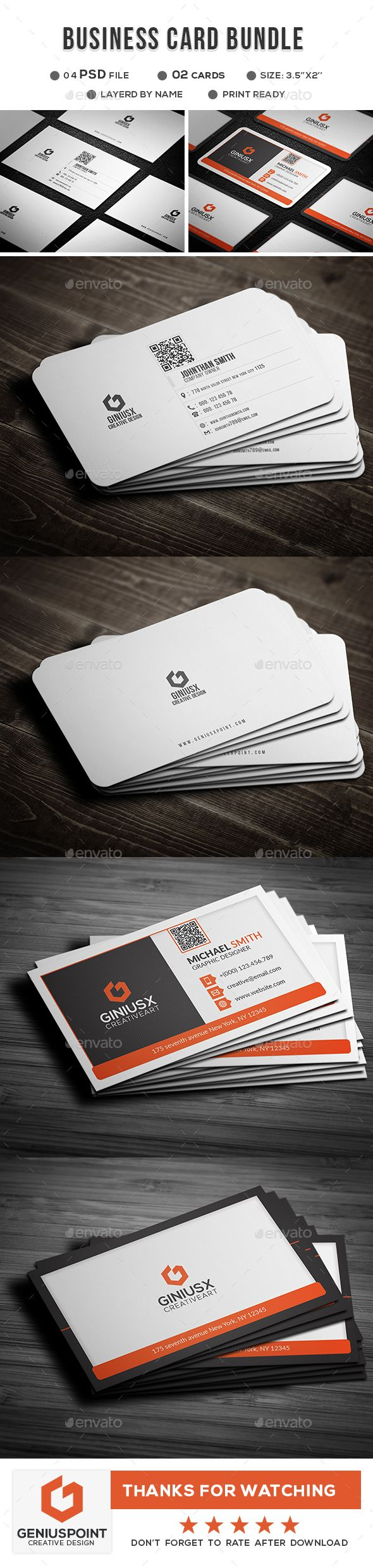 67 best 2018\'s Corporate Business Card Template\'s images on ...