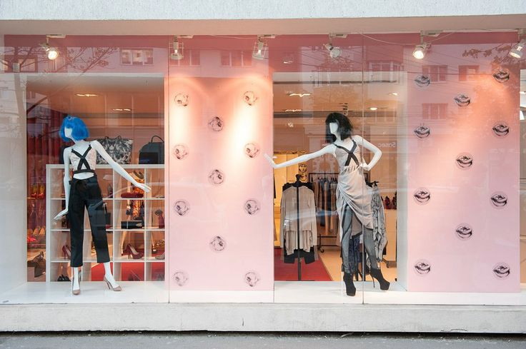 Spring/Summer '13 Collection Les Vampires - Window Display at The Place Concept Store; styling by Răzvan Firea & 109