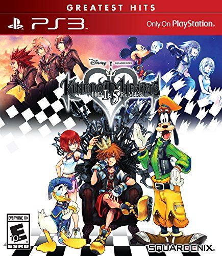 A new collection of the first three Kingdom Hearts titles in gorgeous high-definition: KINGDOM HEARTS 1 FINAL MIX, KINGDOM HEARTS Re:Chain of Memories, and KINGDOM HEARTS 358/2 Days (HD remastered cinematics).KINGDOM HEARTS HD 1.5 ReMIX marks the first time KINGDOM HEARTS will be available on the PlayStation 3! Team up with Disney and FINAL FANTASY heroes to explore new and familiar worlds featuring over 100 Disney characters.Disney: Mickey Mouse, Donald Duck, Goofy, Aladdin, Pinocchio…