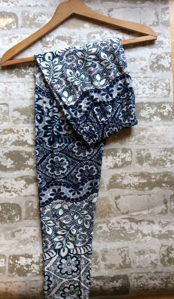 Lacey Blue Legging XXPlus
