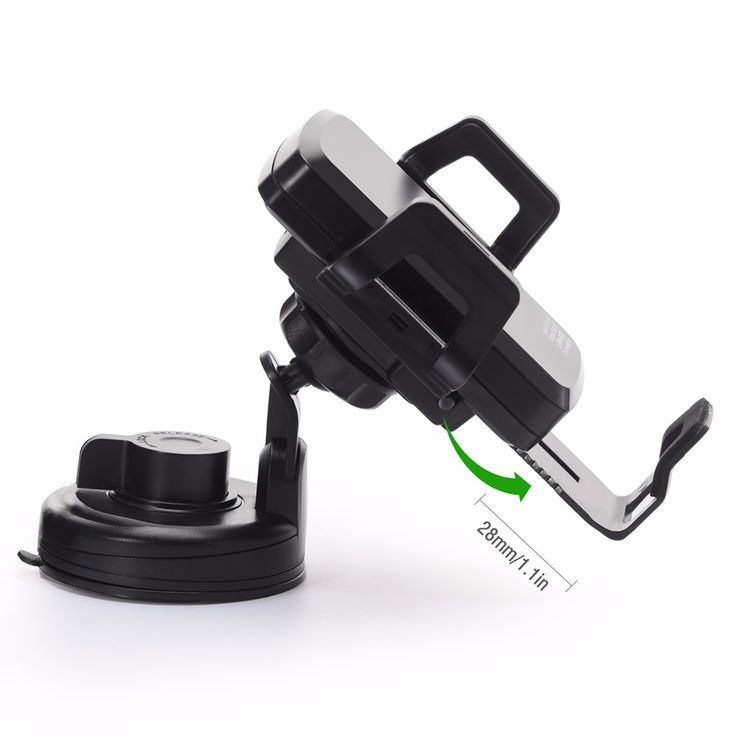 High Quality C1+ Wireless Power Charger DC5V 2A QI Charging Stand Holder Car Use Charger
