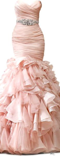 Blush wedding beauty