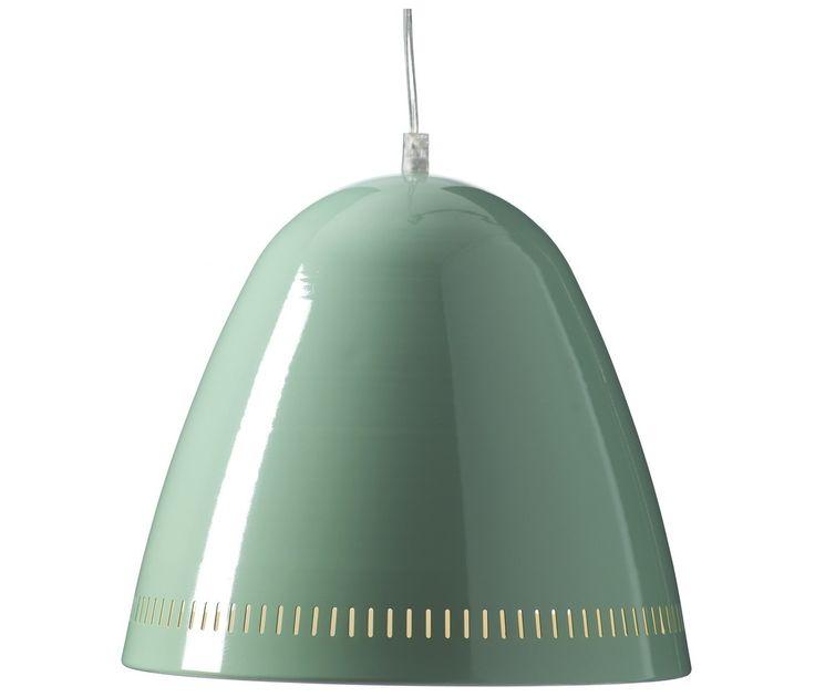 Grande Lampe Suspension Vert d'Eau