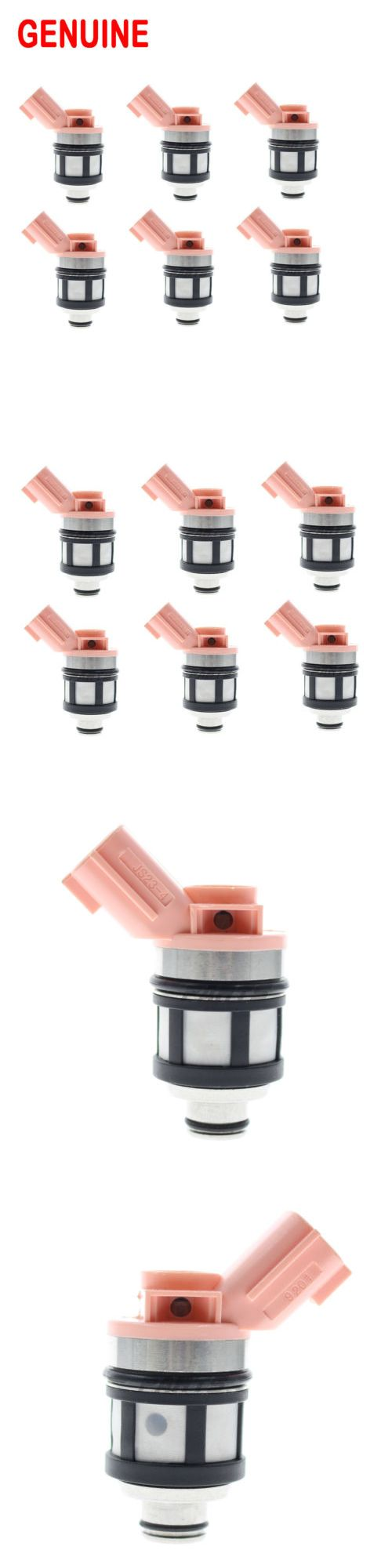 auto parts - general: Oem Set Of 6 1996-2004 For A Nissan Frontier Pathfinder 3.3L Fuel Injectors BUY IT NOW ONLY: $138.99