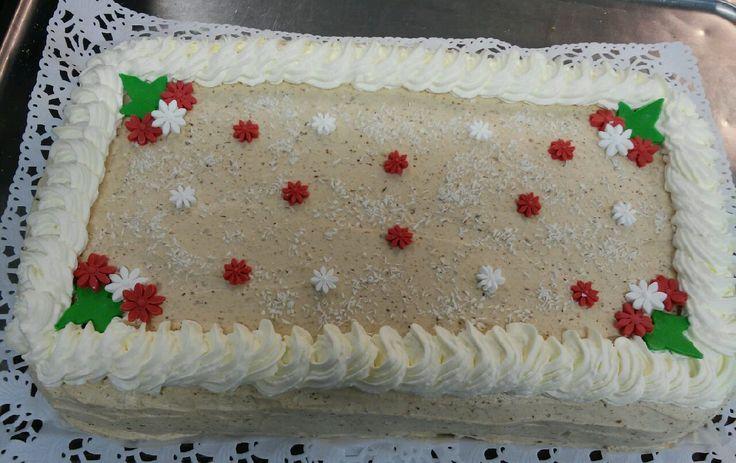 Sairaalaan joulujuhla kakku! Glut. Lakt.