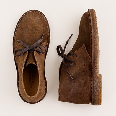 Kids' oiled suede MacAlister boots