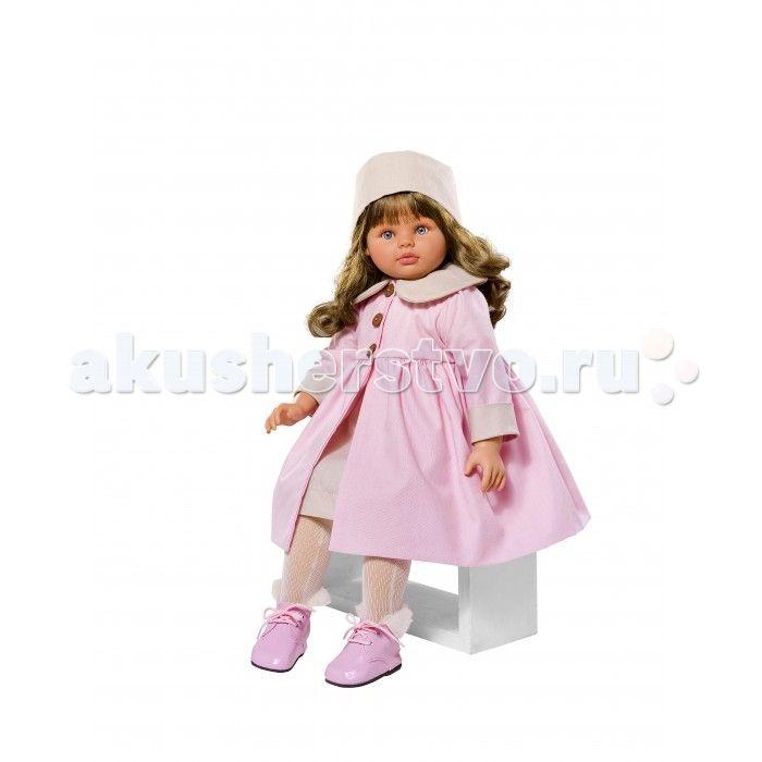 ASI Кукла Пепа 60 см 283350  ASI Кукла Пепа 60 см 283350 Густые темные  волосы, огромные голубые глаза с пушистыми ресницами, розовые пухлые губки - от куклы невозможно оторвать взгляда! Руки, ноги и голова испанской куклы выполнены из твердого винила, а тело мягконабивное. Это придает ей легкости и подвижности.   Пепа одета в розовое пальто, шапочку и красивые ботиночки.Ваш ребёнок будет в восторге от этой куклы!  Особенности:  кукла ASI сделана очень качественно.  Без запаха…