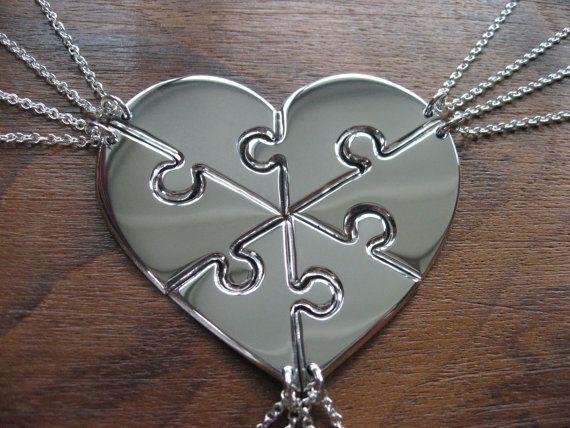 25 Unique Puzzle Piece Necklace Ideas On Pinterest For