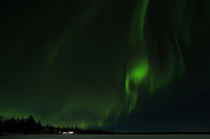 Northern Lights in Kiruna - Northern Lights in Kiruna. Photo taken on a frozen lake