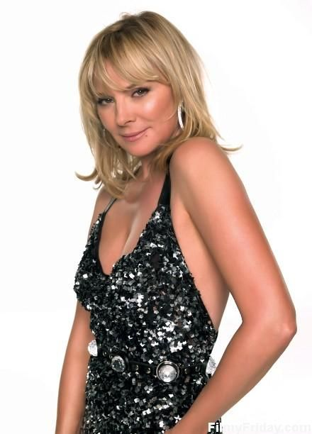 Kim Cattrall - some time ago