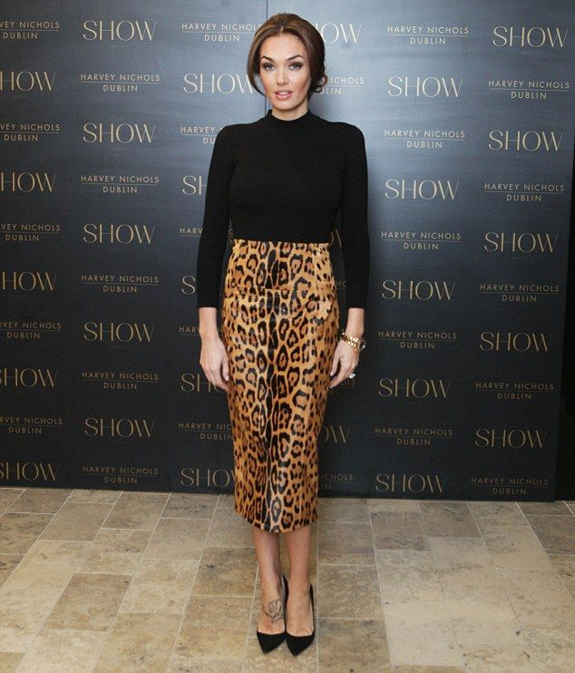 The mane attraction! Tamara Ecclestone was in Dublin on Tuesday afternoon to launch a new ...