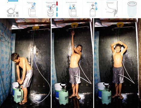 Shower solution - Core77 Design Award