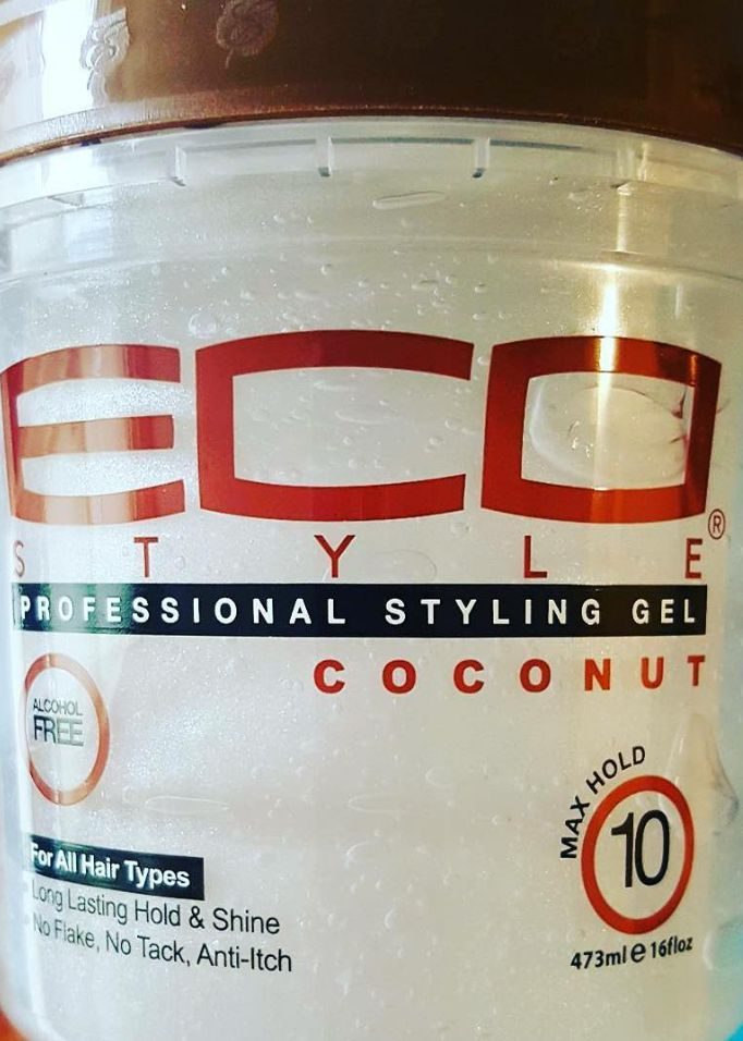 Coconut Styling Gel by Ecoco