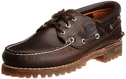 Oferta: 100€ Dto: -13%. Comprar Ofertas de Timberland Authentics FTM_3 Eye Classic Lug - Náuticos para hombre, color marrón (braun pull up), talla 41 barato. ¡Mira las ofertas!