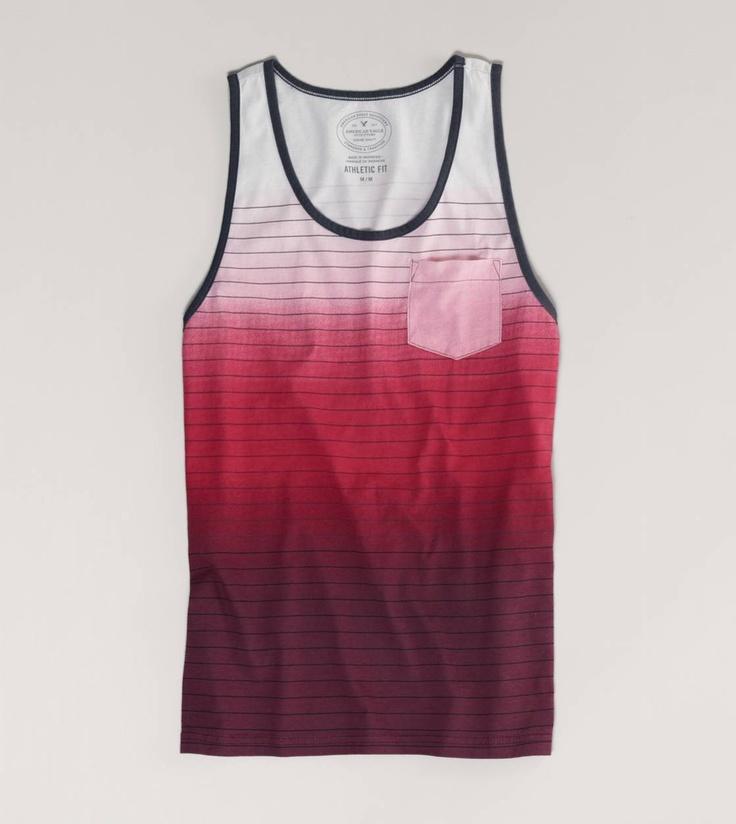AE Shoreline Tank I'd wear it if was for girls!