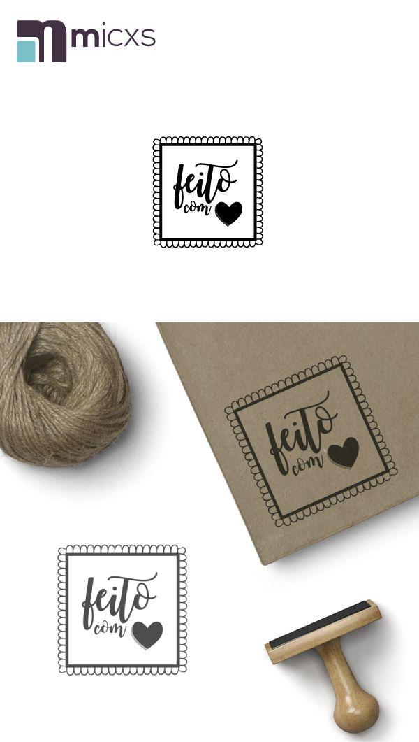 Precisa personalizar seu produto? Carimbos personalizados, feitos especialmente para demostrar que foi feito, com muito Amor!