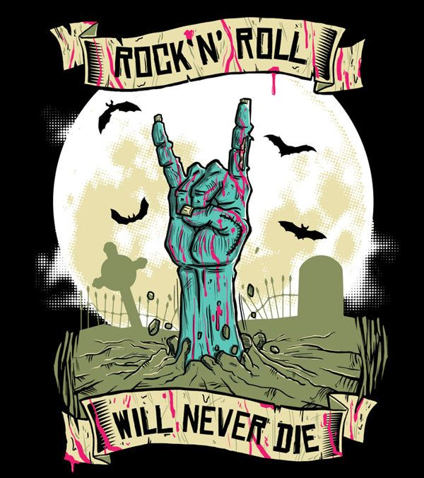 rock n roll will never dieadriano carvalho, via