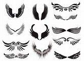 Résultat d'images pour Guardian Angel Wings Tattoo Designs