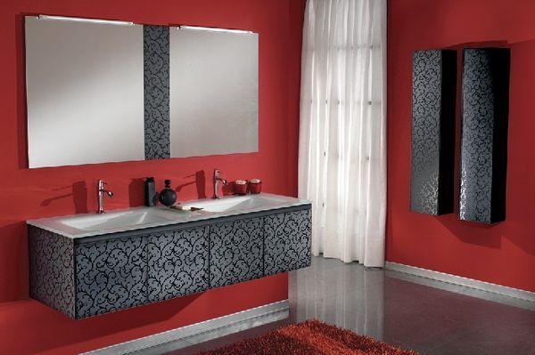 Красно белая ванная комната, бело красная, дизайн интерьера, видео и фото | Все о дизайне и ремонте дома