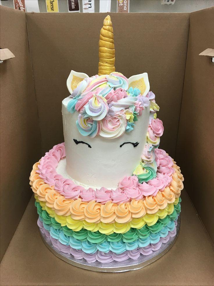 Unicorn Birthday Cake Design : Best 25+ Unicorn birthday cakes ideas on Pinterest