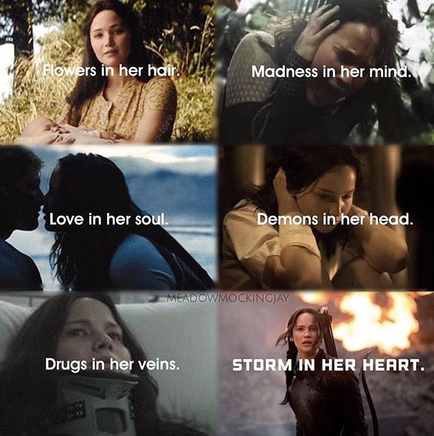 Katniss the girl of emotions