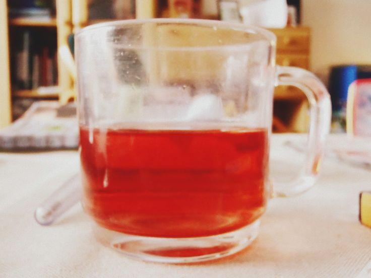 tea, illness, ill, rosetea :)