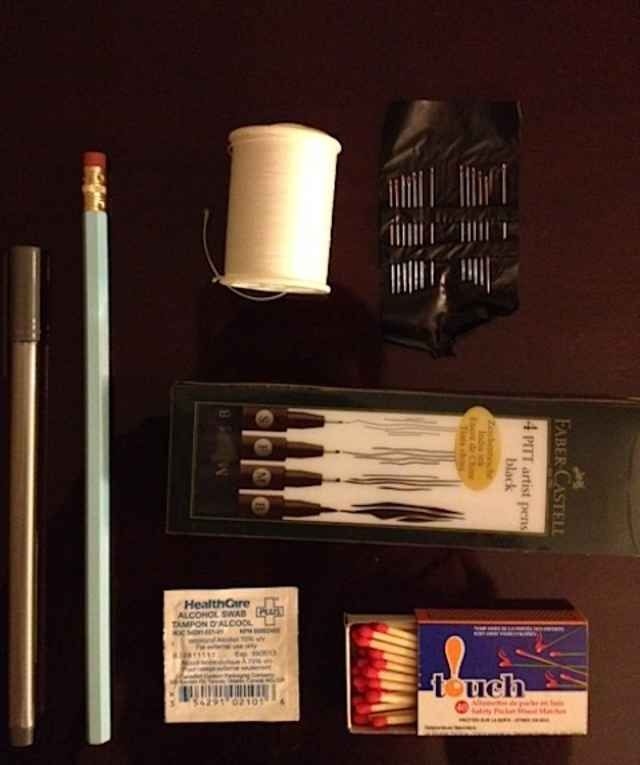 Easy-peasy at home tattoo kit!