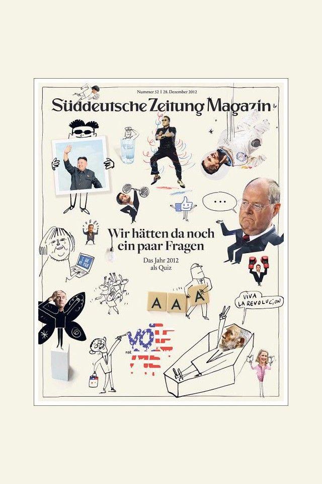 《Süddeutsche Zeitung Magazin》雜誌 12月封面